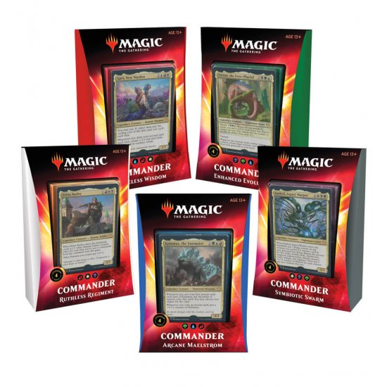 Magic: The Gathering Ikoria: Lair of Behemoths Commander 2020 Decks Set of 5