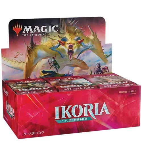 Magic: The Gathering Ikoria: Lair of Behemoths Draft Booster Box, 36/Pack (Japanese)
