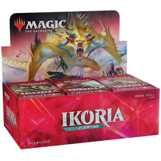 Magic: The Gathering Ikoria: Lair of Behemoths Draft Booster Box, 36/Pack (Japanese)