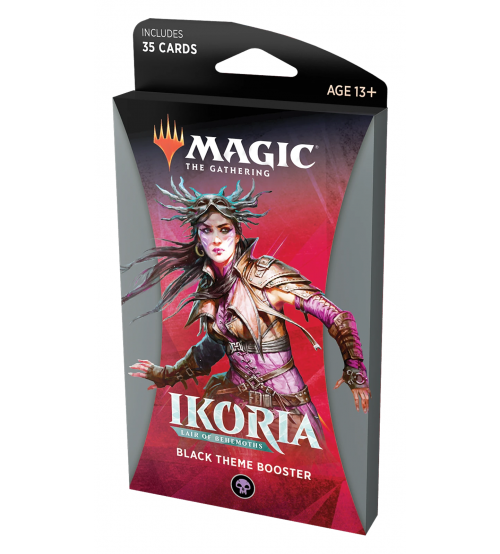 Magic: The Gathering Ikoria: Lair of Behemoths Black Theme Booster