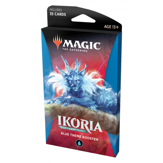 Magic: The Gathering Ikoria: Lair of Behemoths Blue Theme Booster
