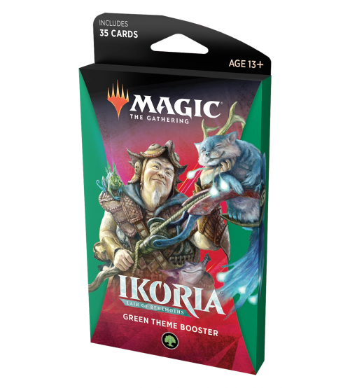 Magic: The Gathering Ikoria: Lair of Behemoths Green Theme Booster