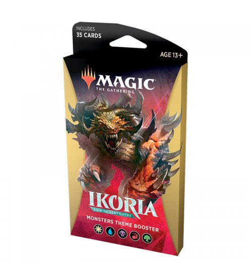 Magic: The Gathering Ikoria: Lair of Behemoths Monsters Theme Booster