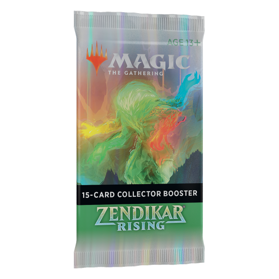 Magic: The Gathering Zendikar Rising 15-Card Collector Booster Pack