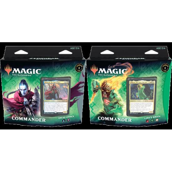 Magic: The Gathering Zendikar Rising Commander Decks Set of 2