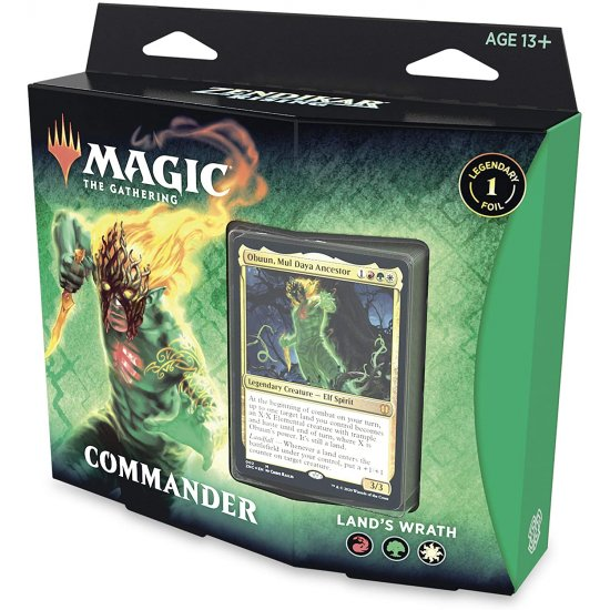 Magic: The Gathering Zendikar Rising Commander Deck - Land's Wrath