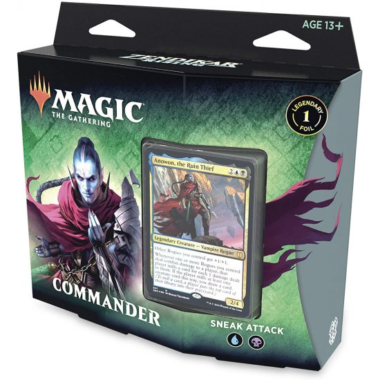 Magic: The Gathering Zendikar Rising Commander Deck - Sneak Attack