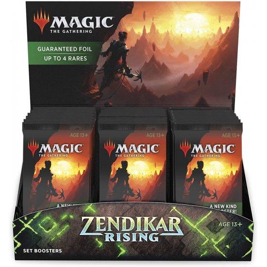 Magic: The Gathering Zendikar Rising Set Booster Box, 30/Pack