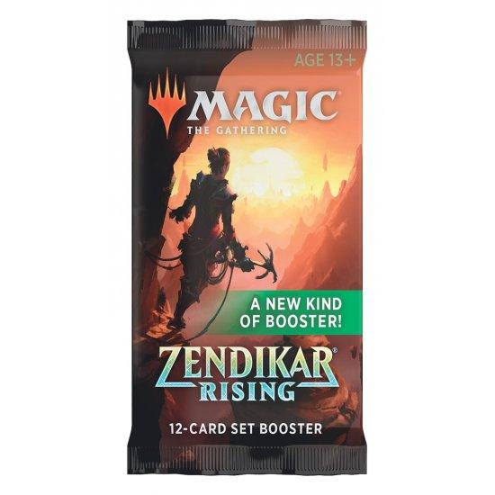 Magic: The Gathering Zendikar Rising 12-Card Set Booster Pack