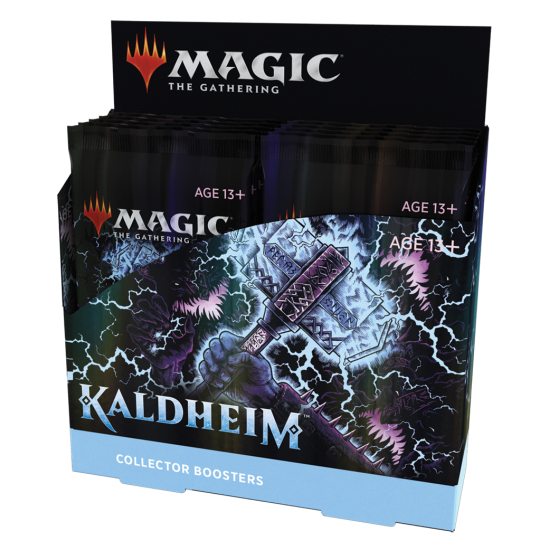 Magic: The Gathering Kaldheim Collector Booster Box, 12/Pack