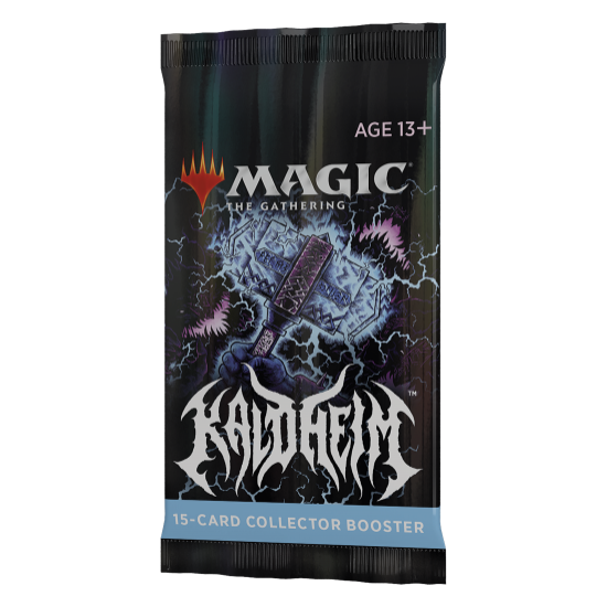 Magic: The Gathering Kaldheim 15-Card Collector Booster Pack (Pre-Order)
