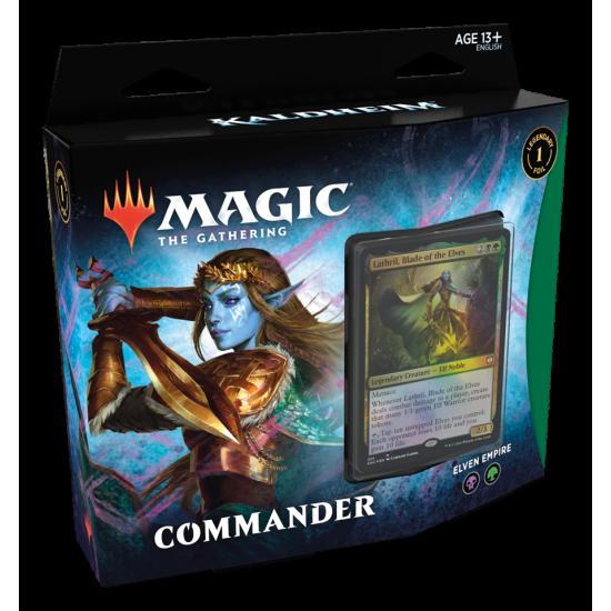 Magic: The Gathering Kaldheim Commander Deck - Elven Empire (Pre-Order)