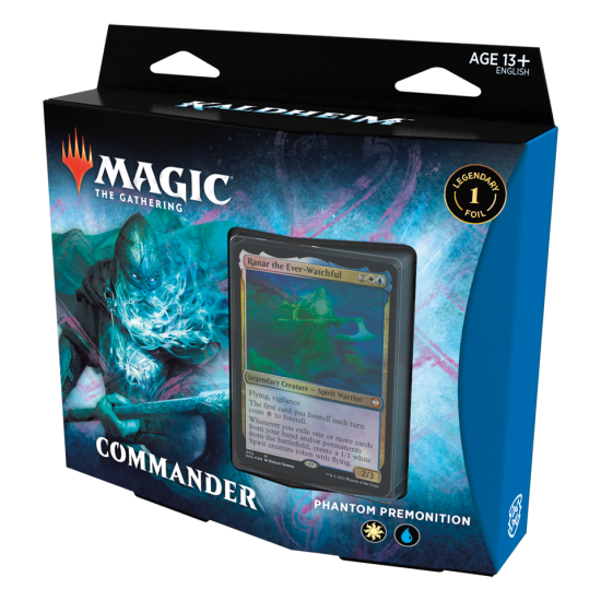 Magic: The Gathering Kaldheim Commander Deck - Phantom Premonition (Pre-Order)
