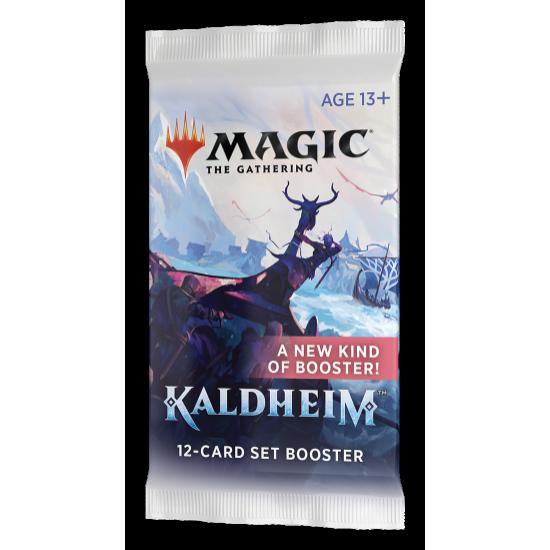 Magic: The Gathering Kaldheim 12-Card Set Booster Pack