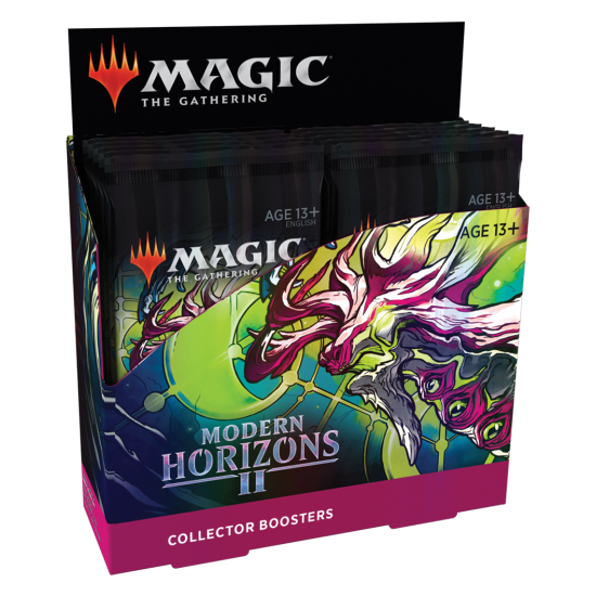 Magic: The Gathering Modern Horizons 2 Collector Booster Box, 12/Pack