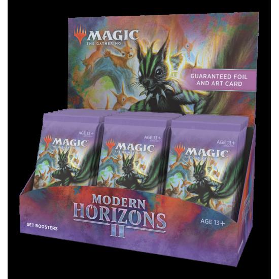 Magic: The Gathering Modern Horizons 2 Set Booster Box, 30/Pack