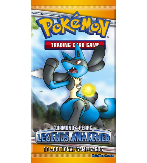 Pokemon Diamond & Pearl Legends Awakened 10-Card Booster Pack