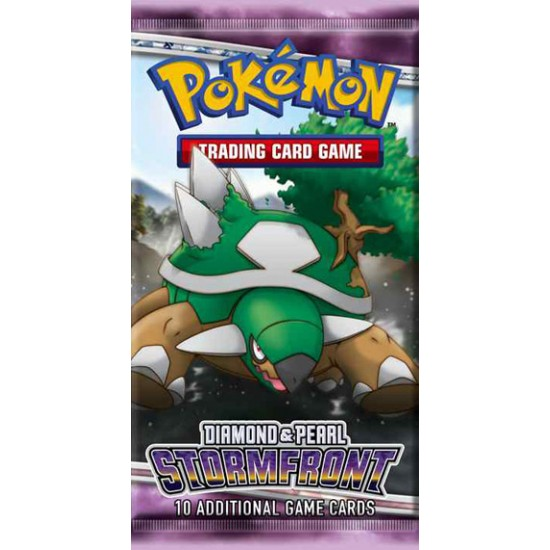 Pokemon Diamond & Pearl Stormfront 10-Card Booster Pack