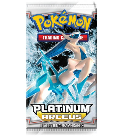 Pokemon Platinum Arceus 10-Card Booster Pack