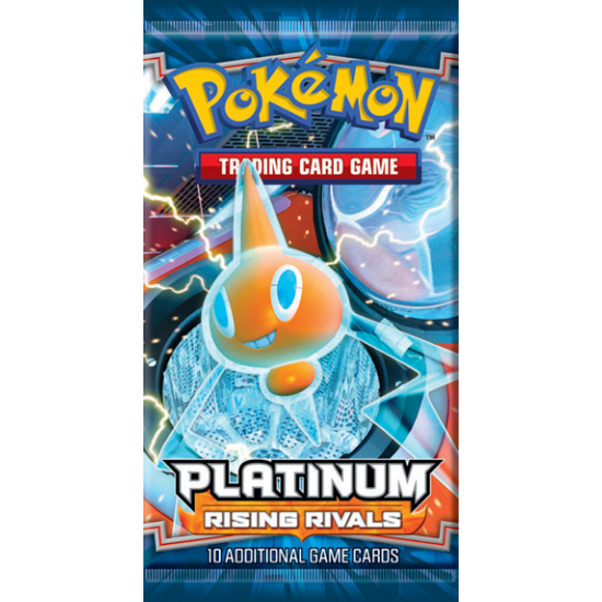 Pokemon Platinum Rising Rivals 10-Card Booster Pack