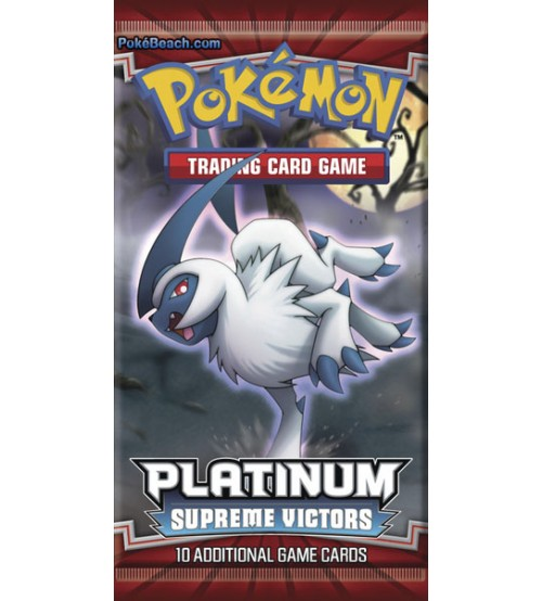 Pokemon Platinum Supreme Victors 10-Card Booster Pack
