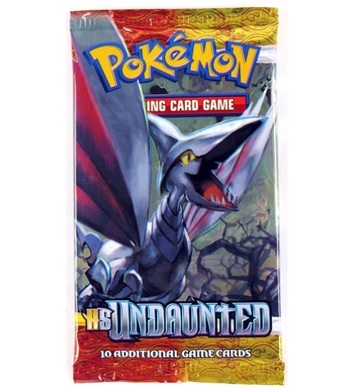 Pokemon TCG HeartGold SilverSoul (HS): Undaunted Booster Pack