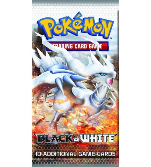 Pokemon Black & White Base Set 10-Card Booster Pack