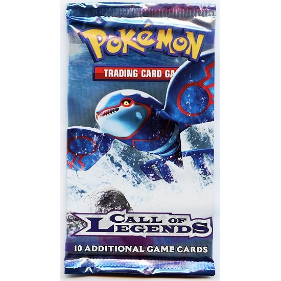 Pokemon Call Of Legends 10-Card Booster Pack