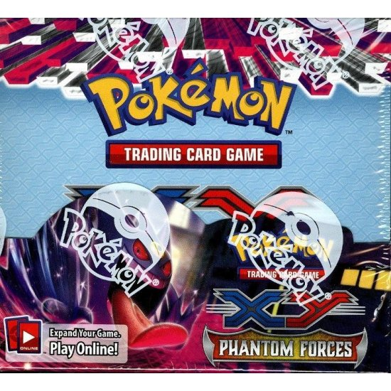 Pokemon XY Phantom Forces Booster Box, 36/Pack