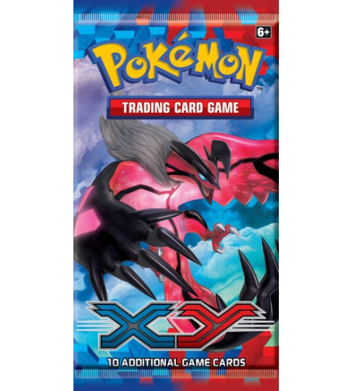 Pokemon XY Base Set 10-Card Booster Pack