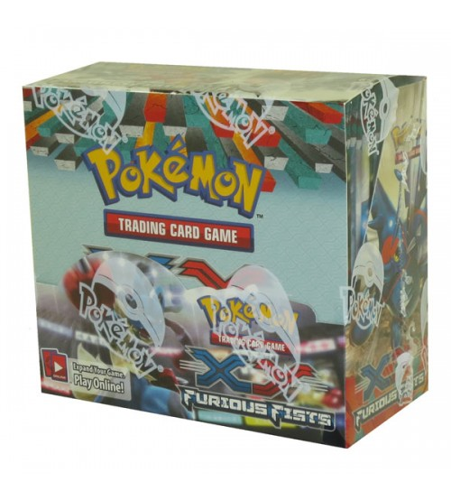 Pokemon XY Furious Fists Booster Box, 36/Pack
