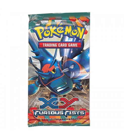 Pokemon XY Furious Fists 10-Card Booster Pack