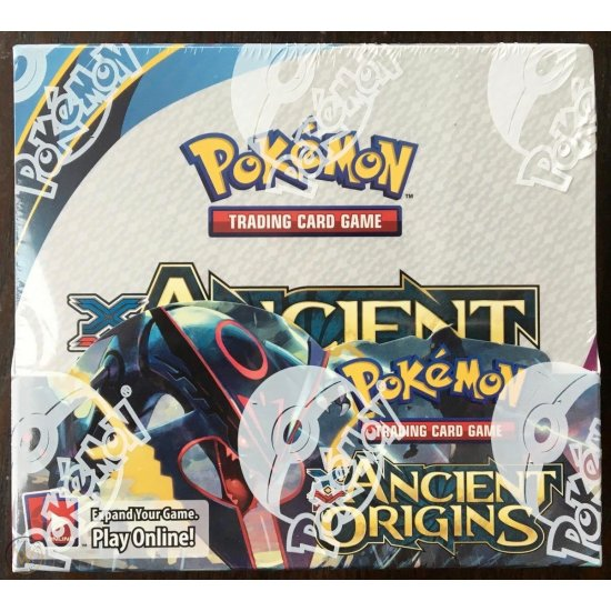 Pokemon XY Ancient Origins Booster Box, 36/Pack