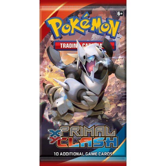 Pokemon XY Primal Clash 10-Card Booster Pack