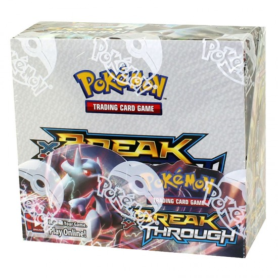 Pokemon XY BREAKthrough Booster Box, 36/Pack