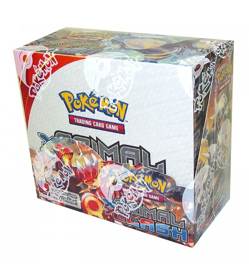 Pokemon XY Primal Clash Booster Box, 36/Pack