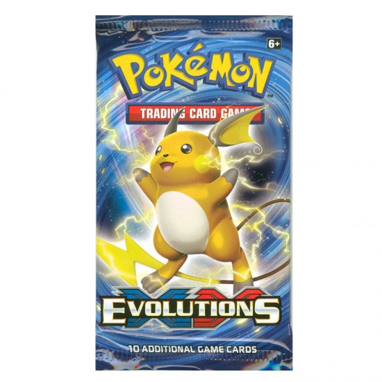 Pokemon XY Evolutions 10-Card Booster Pack