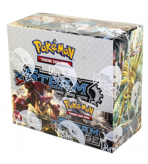 Pokemon XY Steam Siege Booster Box, 36/Pack
