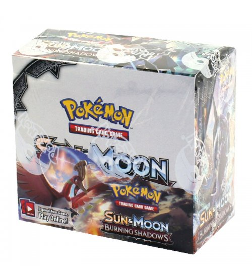 Pokemon Sun & Moon Burning Shadows Booster Box, 36/Pack