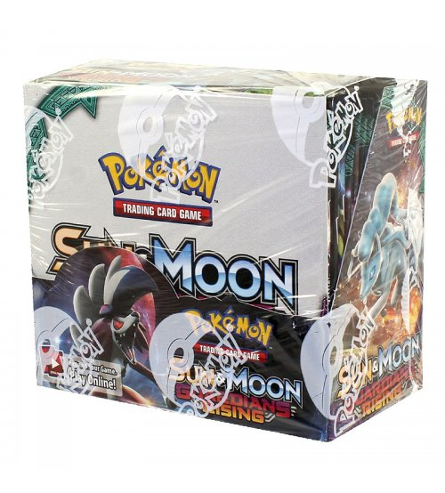 Pokemon Sun & Moon Guardians Rising Booster Box, 36/Pack