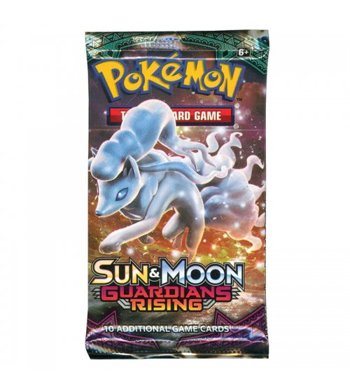 Pokemon Sun & Moon Guardians Rising 10-Card Booster Pack
