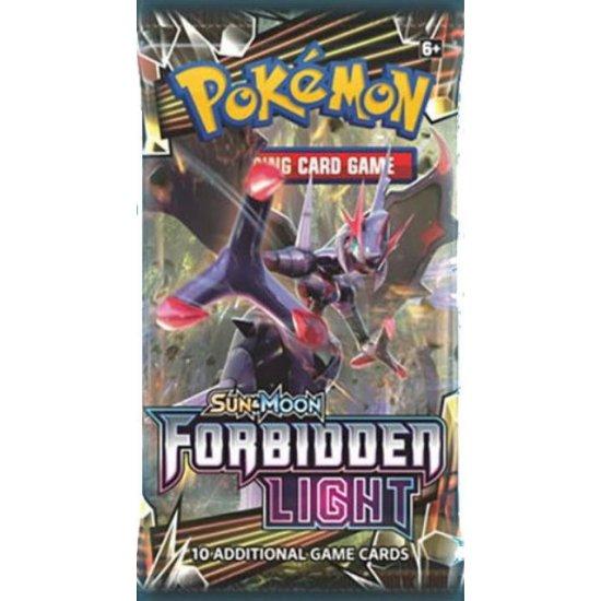 Pokemon Sun & Moon Forbidden Light 10-Card Booster Pack