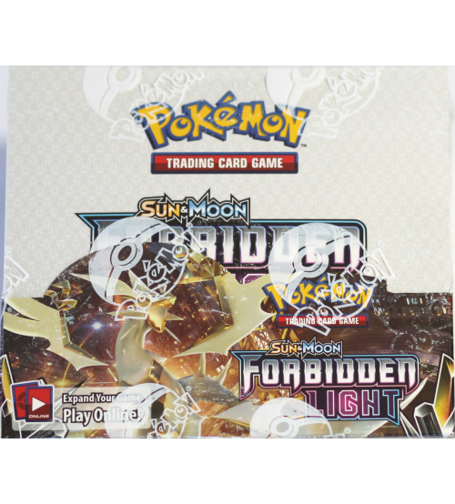 Pokemon Sun & Moon Forbidden Light Booster Box, 36/Pack