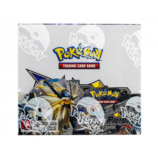Pokemon Sun & Moon Ultra Prism Booster Box, 36/Pack