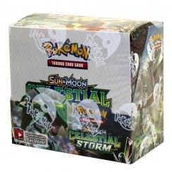 Pokemon Sun & Moon Celestial Storm Booster Box, 36/Pack