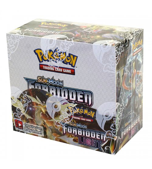 Pokemon Sun & Moon Forbidden Light Booster Box, 36/Pack