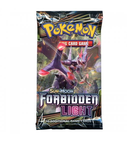 Pokemon Sun & Moon Forbidden Light 10-Card Booster Pack