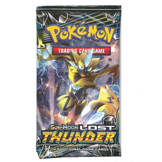 Pokemon Sun & Moon Lost Thunder 10-Card Booster Pack