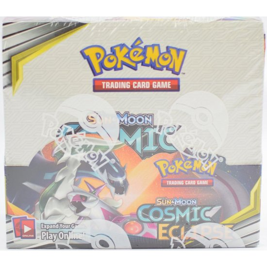 Pokemon Sun & Moon Cosmic Eclipse Booster Box, 36/Pack