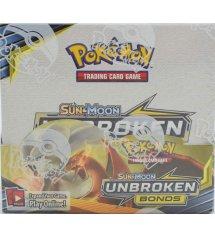Pokemon Sun & Moon Unbroken Bonds Booster Box, 36/Pack